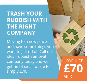 Small Waste Removal for as Low as £70