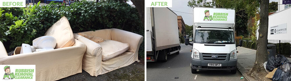 SW18 household waste Southfields