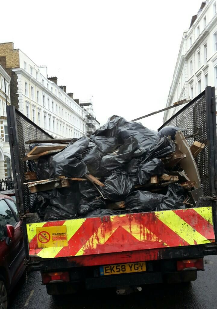 Castelnau builders waste clearance SW13