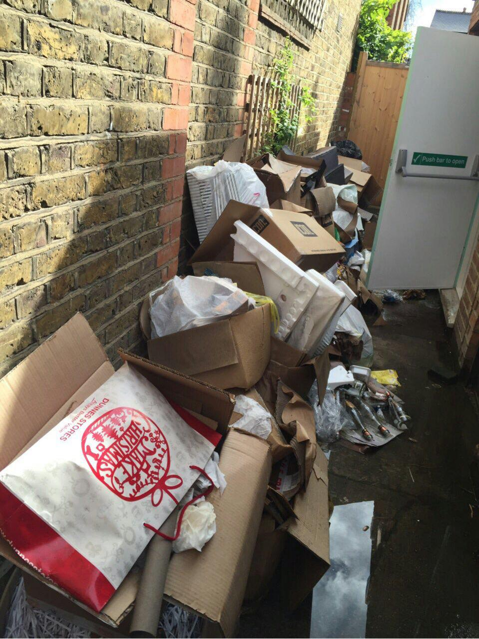 Knightsbridge refuse disposal SW1
