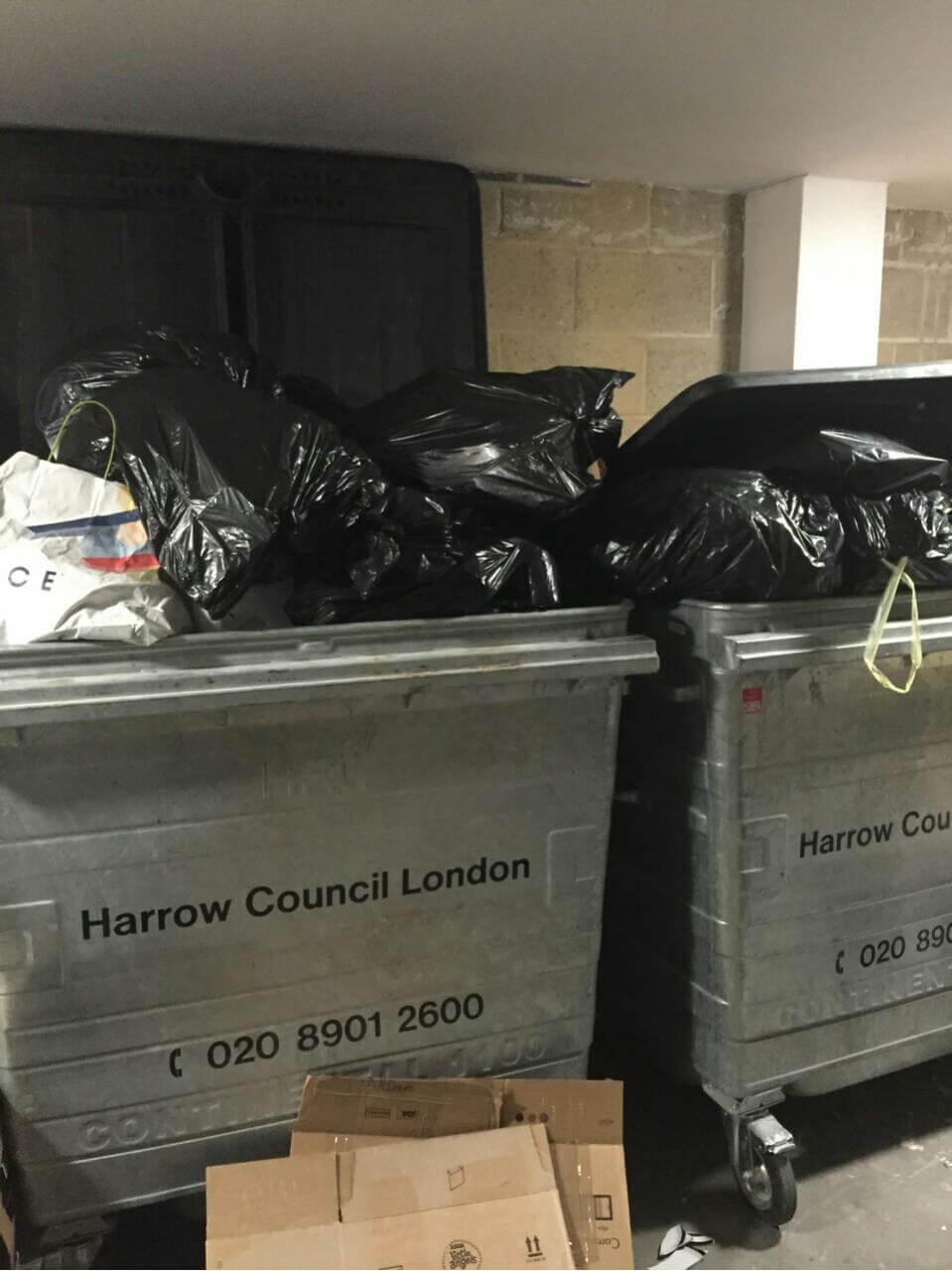 rubbish disposal London