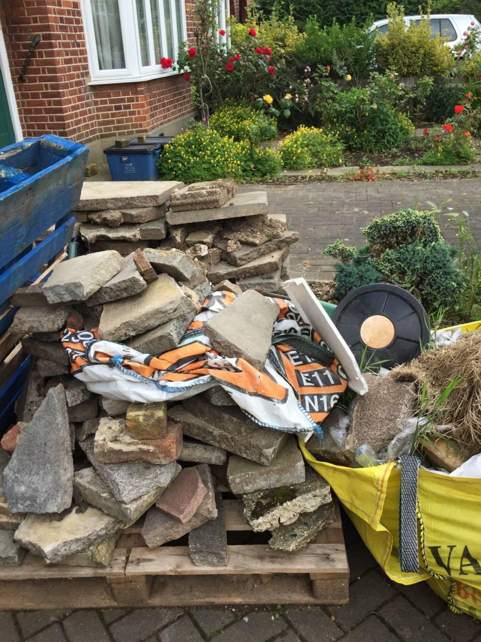 Catford clearing rubbish SE6