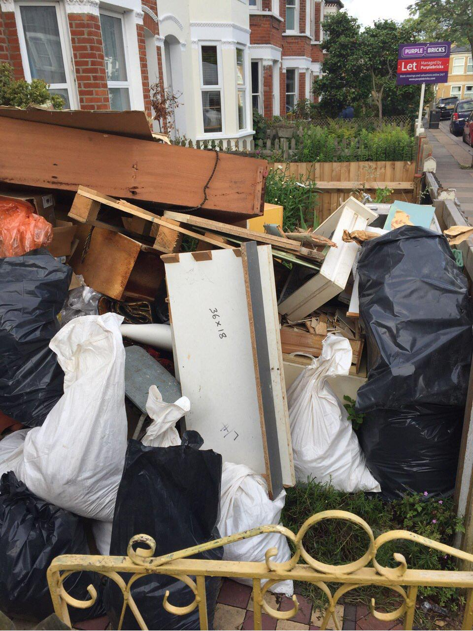 Aldborough Hatch clearing waste collection IG2