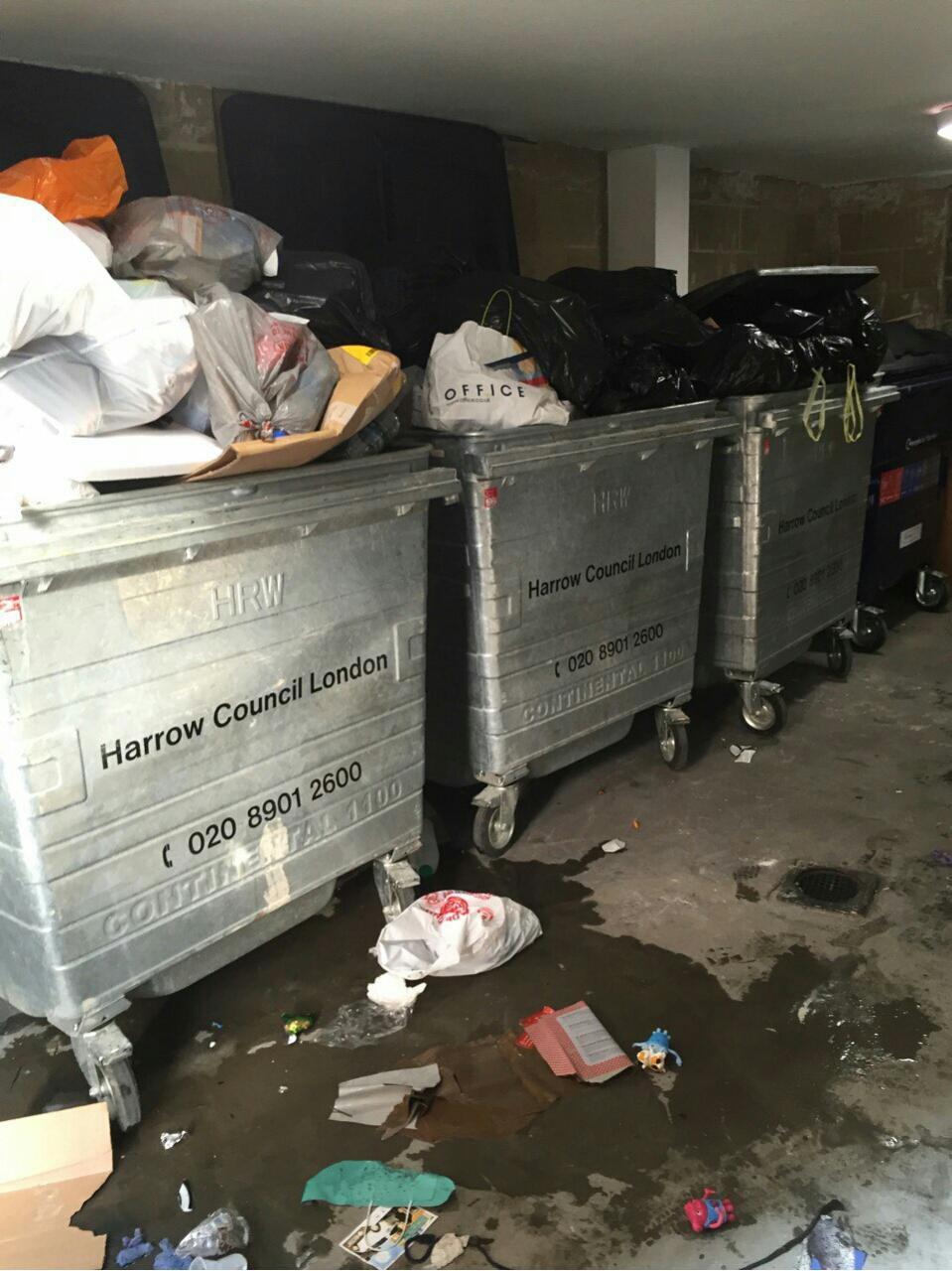 The Hyde clearing waste collection NW9