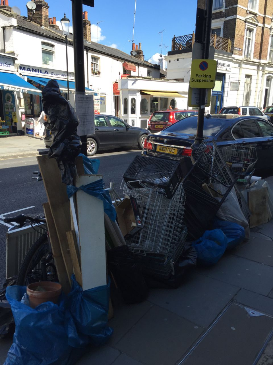 Crouch End clearing waste collection N8