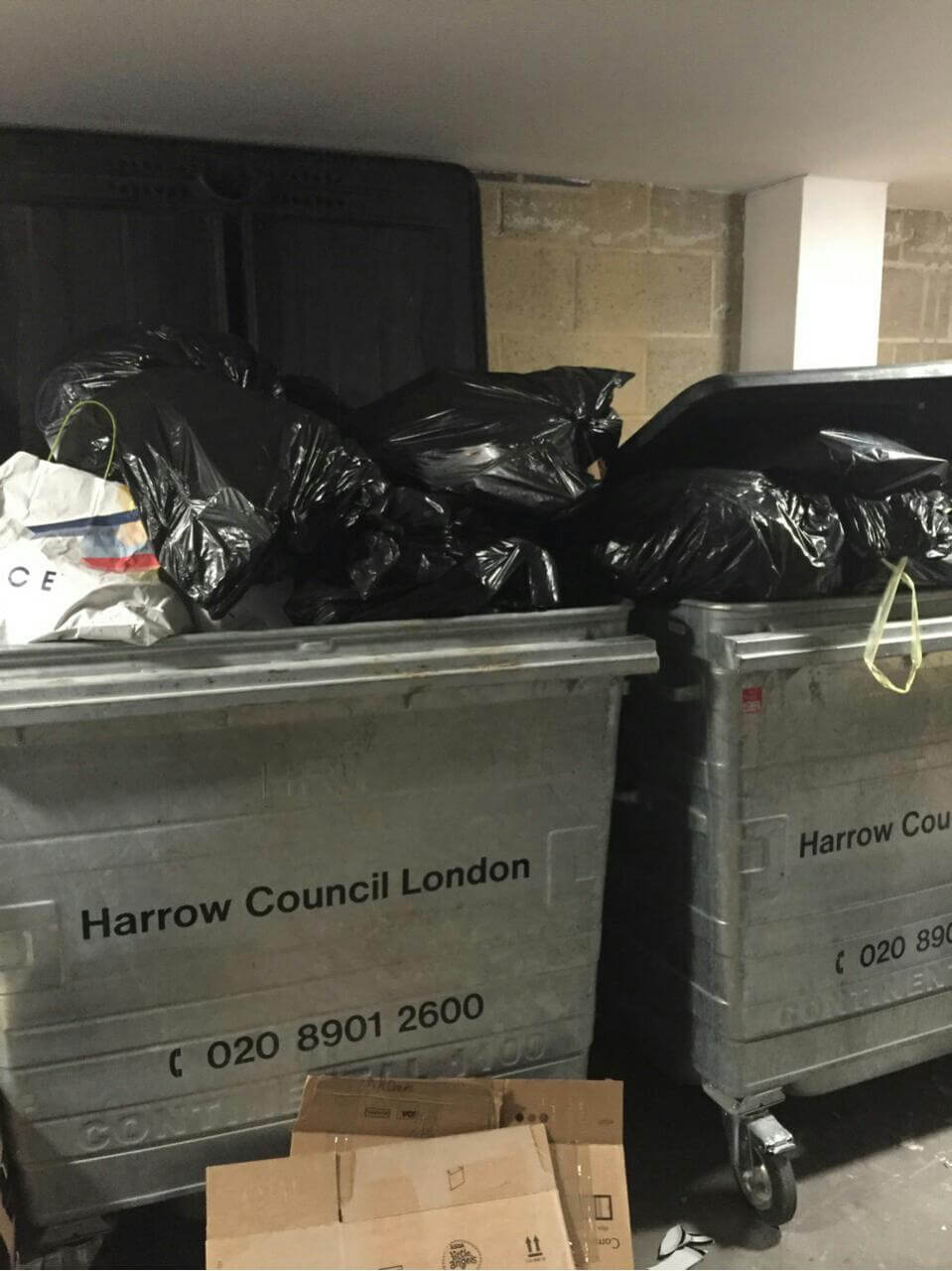 Camberwell clearing waste collection SE5