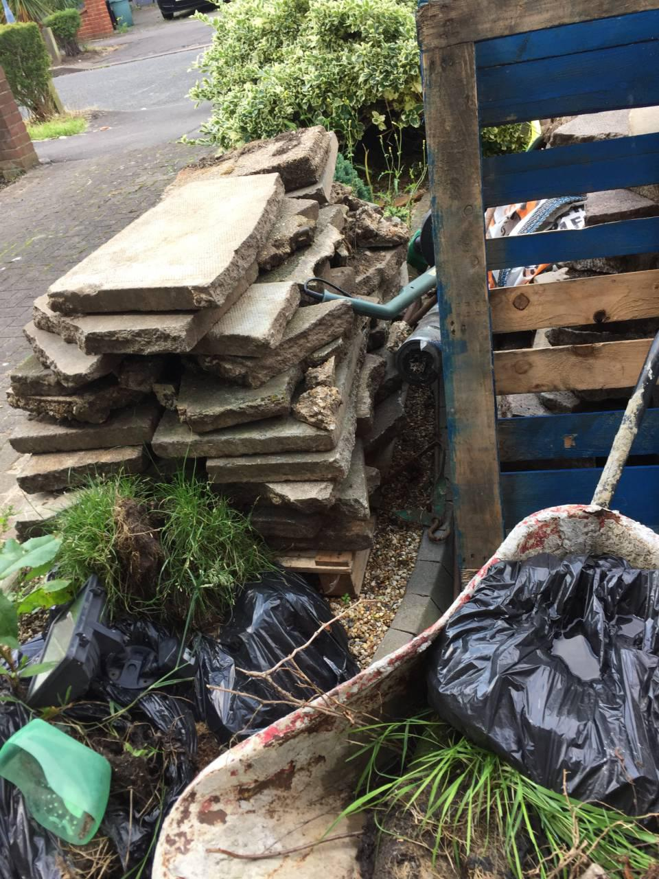 Lower Morden clearing waste collection SM4